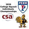 2016 CSA Individual Championships - Ramsay Cup: Kanzy El Defrawy (Trinity) and Yan Xin Tan (Penn)
