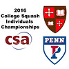 2016 CSA Individual Championships - Pool Trophy: Amr Khaled Khalifa (St. Lawrence) and Marwan Mahmoud (Penn)