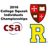 2016 CSA Individual Championships - Molloy Cup:  Lawrence Kuhn (Rochester) and Lockie Munro (St. Lawrence)