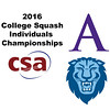 2016 CSA Individual Championships - Holleran Cup: Catherine Jenkins (Columbia) and Kim Krayacich (Amherst)