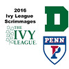 2016 Ivy League Scrimmages:  Julia Potter (Dartmouth) and Rowaida Attia Walid (Penn)