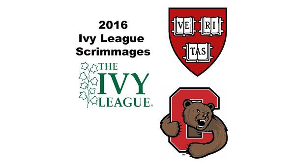 2016 Ivy League Scrimmages: Benjamin Francis (Cornell) and Mandela Patrick (Harvard)