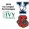 2016 Ivy League Scrimmages:  Lauren Leizman (Cornell) and Shiyuan Mao (Yale)
