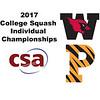 2017 CSA Individual Championships - Ramsay Cup: Olivia Fiechter (Princeton) and Laila Samy (Wesleyan)