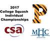 2017 CSA Individual Championships - Holleran Cup: Gabriella Garr (Princeton) and Nadindhi Udangawa (Mount Holyoke)