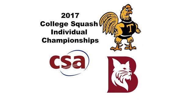 2017 CSA Individual Championships - Pool Trophy: Ahmed Hatata (Bates) and Rick Penders (Trinity)