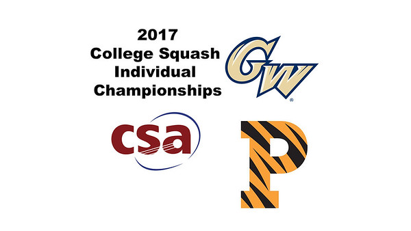 2017 CSA Individual Championships - Holleran Cup: Madison Soukup (Princeton) and Engy Elmandouh (George Washington)