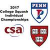 2017 CSA Individual Championships - Ramsay Cup: Georgina Kennedy (Harvard) and Marie Stephan (Penn)