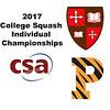 2017 CSA Individual Championships - Holleran Cup: Samantha Chai (Princeton) and Zoe Kagan (St. Lawrence)