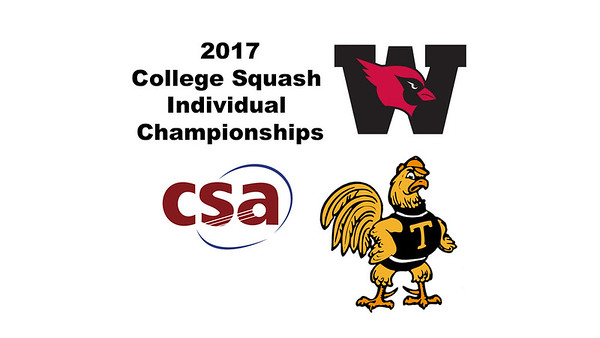 2017 CSA Individual Championships - Ramsay Cup: Laila Samy (Wesleyan) and Vanessa Raj (Trinity)