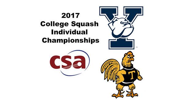 2017 CSA Individual Championships - Ramsay Cup: Lucy Beecroft (Yale) and Vanessa Raj (Trinity)