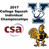 2017 CSA Individual Championships - Ramsay Cup: Lucy Beecroft (Yale) and Vanessa Raj (Trinity)