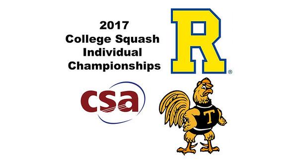 2017 CSA Individual Championships - Pool Trophy: Thoboki Mohohlo (Trinity) and Ryosei Kobayashi (Rochester)