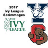 2017 Ivy League Scrimmages: Jessica Yacobucci (Yale) and Lauren Leizman (Cornell)