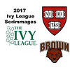 2017 Ivy League Scrimmages: Bradley Smith (Harvard) and John Paul Champa (Brown)