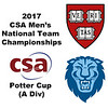 2017 MCSA Team Championships - Potter Cup: Osama Khalifa (Columbia) and Saadeldin Abouaish (Harvard)
