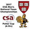 2017 MCSA Team Championships - Potter Cup: Thoboki Mohohlo (Trinity) and Madhav Dhingra (Harvard)