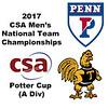 2017 MCSA Team Championships - Potter Cup: Affeeq Ismail (Trinity) and David Yacobucci (Penn)