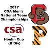 2017 MCSA Team Championships - Hoehn Cup: Adhitya Raghavan (Princeton) and Harry Freeman (Cornell)