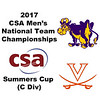 2017 MCSA Team Championships - Summers Cup: Harrison Kapp (Virginia) and Claude Smith (Williams)