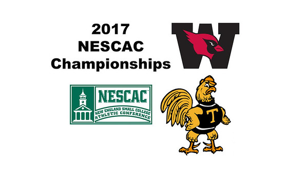 2017 NESCAC Championships: Tom De Mulder (Trinity) and David Sneed (Wesleyan)
