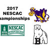 2017 NESCAC Championships: Esther Baek (Williams) and Lindsey Bindra (Bowdoin)