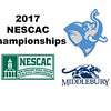 2017 NESCAC Championships: Alexa Comai (Middlebury) and Catherine Shanahan (Tufts)