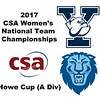 2017 WCSA Team Championships - Howe Cup: Shiyuan Mao (Yale) and Jui Kalgutkar (Columbia)