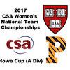 2017 WCSA Team Championships - Howe Cup: Kayley Leonard (Harvard) and Alexandra Toth (Princeton)