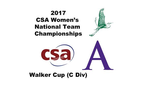 2017 WCSA Team Championships - Walker Cup: Gabrielle Fraser (William Smith) and Kim Krayacich (Amherst)