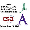 2017 WCSA Team Championships - Walker Cup: Gabrielle Fraser (William Smith) and Kim Krayacich (Amherst)