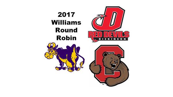2017 Williams Round Robin: Illia Presman (Cornell) and Hal Holappa (Dickinson)