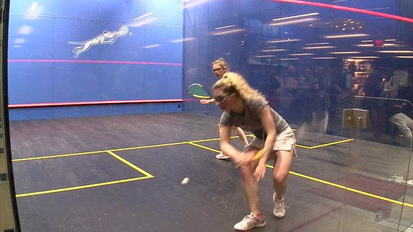 2018 Individual Championships: Gina Kennedy (Harvard) and Amelia Henly (Harvard) Gm3-4