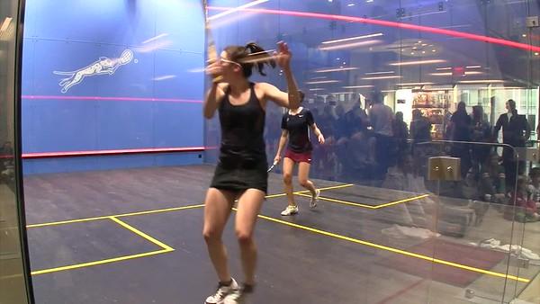 2018 Individual Championships:  Reeham Sedky (Penn) and Sabrina Sobhy (Harvard) Gm 3