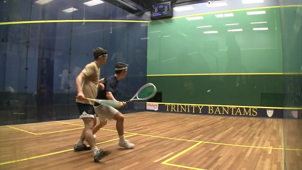 2018 MCSA Team Championships: Harrison Gill (Yale) and Michael Kacergis (Navy)