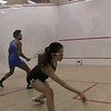2018 WCSA Team Championships: Aditi Prasad(Wesleyan) and Lauren Johnston (Franklin & Marshall)
