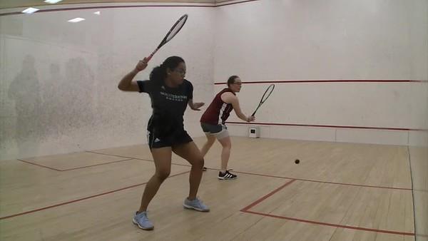 2018 WCSA Team Championships: Tanishka Sachidanand (Mount Holyoke) andEmma Glickman (Vassar)