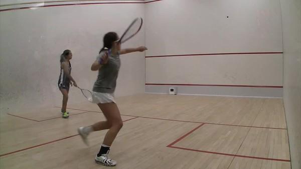 2018 WCSA Team Championships: Nicole Lara Granados (Mount Holyoke) andHannah Cooke (Bowdoin)