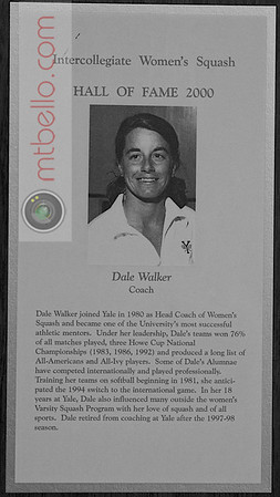 Women's College Squash Hall of Fame: