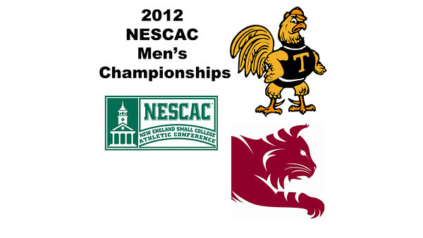 2012 NESCAC Men's Championships: #4s - Johan Detter (Trinity) and Andy Cannon (Bates)