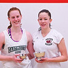 2013 College Squash Individual Championships: Myriam Kelly (Bates) and Sarah Loucks (Dartmouth)