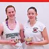 2013 College Squash Individual Championships: Myriam Kelly (Bates) and Sarah Loucks (Dartmouth)