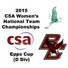 2015 WCSA Team Championships - Epps Cup: Allison Rubin (William Smith) and Alexis Ditomassi (BC)