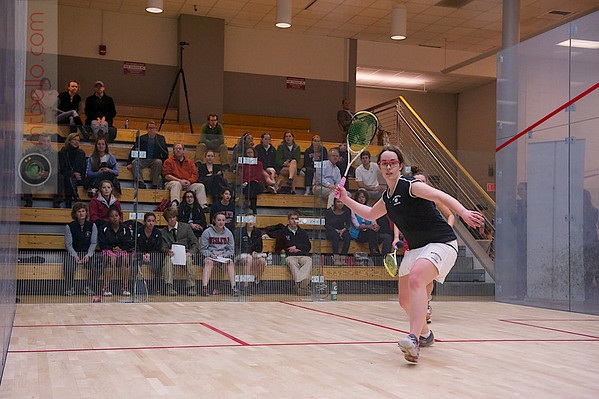 2012 Women's National Team Championships (Howe Cup): Annie Maxwell (Wesleyan) and Alden Drake (Bowdoin)