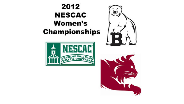 2012 NESCAC Women's Championships: #2s - Cheri-Ann Parris (Bates) and Rachel Barnes (Bowdoin)