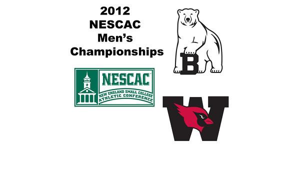 2012 NESCAC Men's Championships: #2s - Stephan Danyluk (Bowdoin) and Michael DeLalio (Wesleyan)