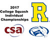 2017 CSA Individual Championships - Molloy Cup: Tomotaka Endo (Rochester) and Elliot Gross (Colby)