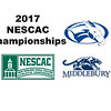 2017 NESCAC Championships:  Wyatt French (Middlebury) and Will McBrian (Colby)