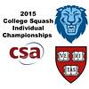 2015 CSA Individuals - Pool Trophy: Osama Khalifa (Columbia) and David Ryan (Harvard)