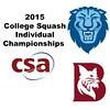 2015 CSA Individuals - Pool Trophy (Final): Ahmed Abdel Khalek (Bates) and Osama Khalifa (Columbia)
